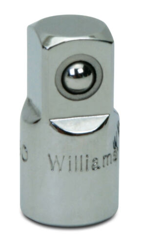 "1//4/""Drive-3//8/""Drive Adaptor High Polished Chrome Finish Williams®USA MB-130"