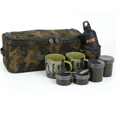 Fox Camolite Brew Kit Bag Tasche mit Tassen Becher CLU323 Carp-Shop