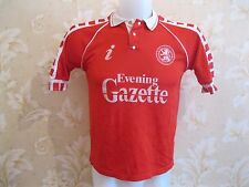 VINTAGE Middlesbrough 1990/1991/1992 Home Size 36 football shirt jersey maillot