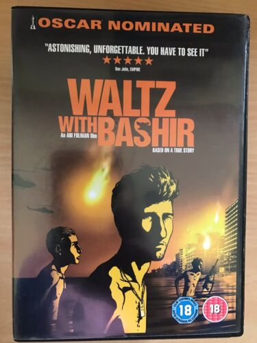 1 of 1 - WALTZ WITH BASHIR ~ 2008 Israeli Lebanese Occupation / Tank / War Film UK DVD