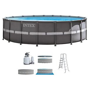 Intex-18-039-x-52-034-Ultra-Frame-Above-Ground-Swimming-Pool-Set-with-Sand-Filter-Pump