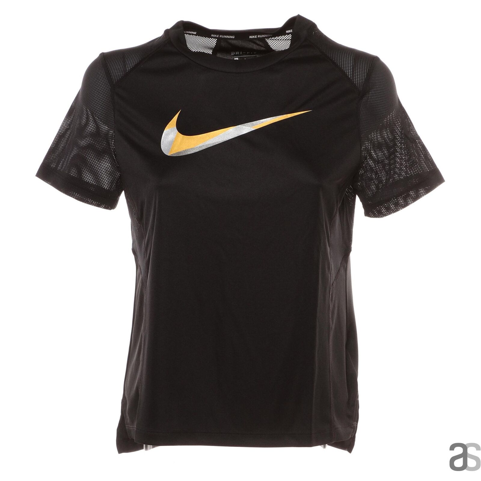 NIKE MILER  TOP SS T-SHIRT COURSE FEMME AJ1789 010  brand outlet