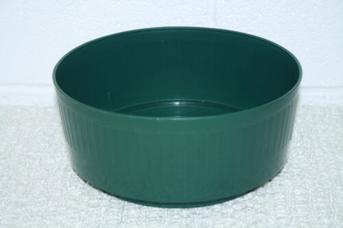 Bulb Bowls Green  white  Round Pedestal Dish  floristry Choice of Sizes /& colour