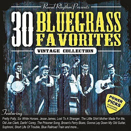 Various Artists - 30 Bluegrass Favorites Power Picks: Vintage / Various [New CD]
