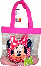 Disney Minnie Mouse 'M' See Through Tote Bag Shopping Shopper
