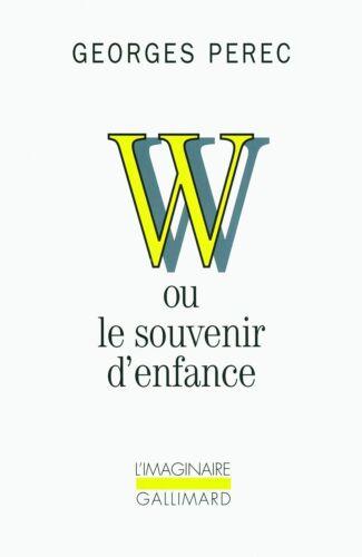 1 of 1 - W, ou, Le souvenir d'enfance-ExLibrary