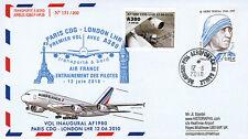 "A380-100 FFC à bord ""Airbus A380 Air France - 1er Vol AF1980 Paris-Londres"" 2010"