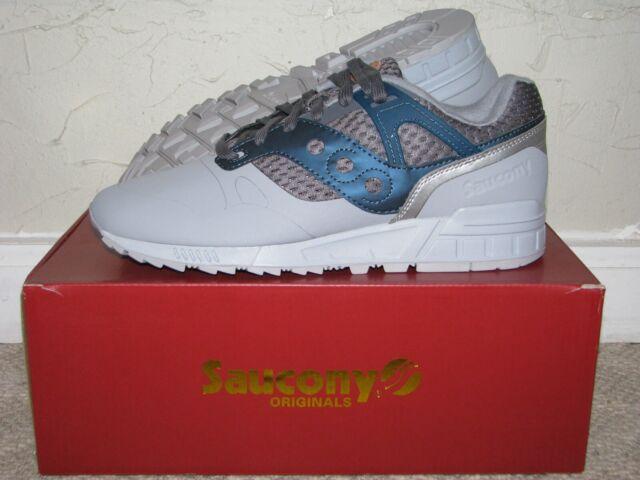 Saucony Originals Grid SD HT Grey Blue Mens Size 10 DS NEW! 5000 G9 9000