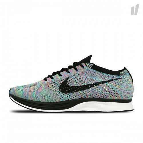 a17397a422e50 Nike Flyknit Racer Multicolor 2.0 Rainbow Men Running Shoes 2017 526628-304  UK 8 for sale online