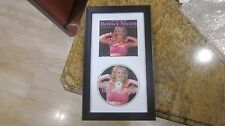 BRITNEY SPEARS SIGNED/AUTOGRAPHED FRAMED CD (VERY RARE CD)