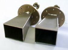 W Band Wr10 75 110 Ghz Millimeter Microwave Gain Horn Antenna Two Units