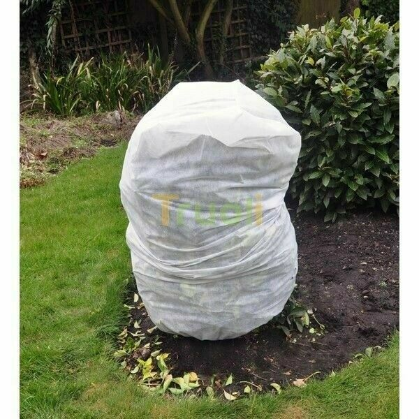 4 x Frost Protection For Plants Winter Fleece Jacket Cover Protect 125cm x 80cm