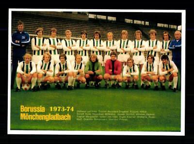 Borussia Mönchengladbach Mannschaftskarte 1973-74