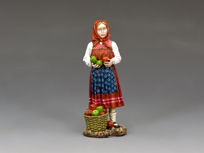 FOB139 The Little Apple Seller by King and Country