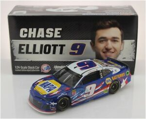 NASCAR 2019 CHASE ELLIOTT #9 PATRIOTIC NAPA BATTERIES 1/24 CAR