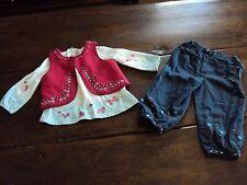 Designer Boutique Du Pareil Au Meme DP AM Pants Shirt Vest Outfit Set France 18