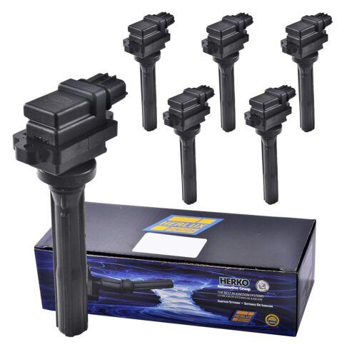 New Herko B034 Ignition Coils Set of 6 For 1998-2007 Suzuki /& Chevrolet vehicles