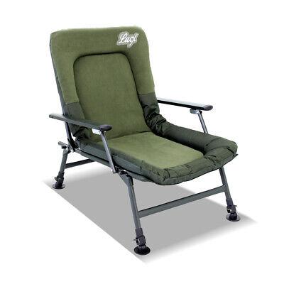 2019 Nuovo Stile Lucx ® Angel Sedia + Borsa Per Il Trasporto Carpa Sedia Carp Chair + Carry Bag Like A Hobo- Medulla Benefico A Essenziale
