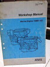 VOLVO PENTA WORKSHOP MANUAL MARINE ENGINE P/N 7733364 (dbx3)
