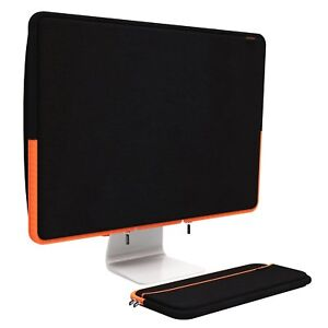 Pawtec-Apple-27-034-iMac-Neoprene-Full-Body-Cover-w-Keyboard-Sleeve-Black