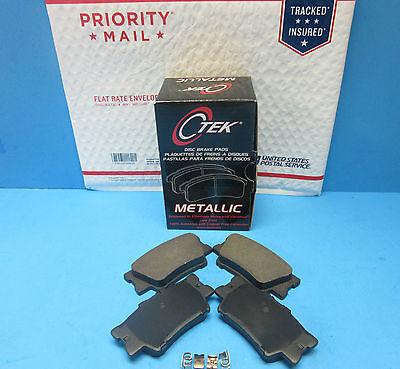 Disc Brake Pad Set-C-TEK Metallic Brake Pads Rear Centric 102.12120