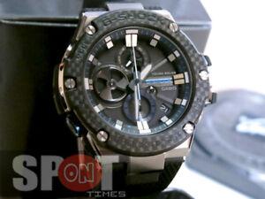 1d7554ef44e Casio G-Shock G-Steel Bluetooth Tough Solar Men s Watch GST-B100XA ...