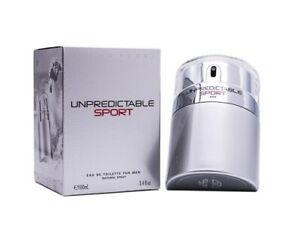 Unpredictable Sport by Glenn Perri 3.4 oz EDT Cologne for Men New In Box