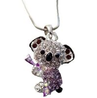 Adorable Koala Bear 3d Necklace 18 Chain Gift Boxed Fast Shipping