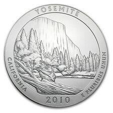 2010 5 oz Silver America the Beautiful - Yosemite National Park, CA - SKU #58419