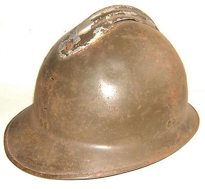 WWII - CASQUE ADRIAN MOD. 26  COQUE POUR REMONTAGE -