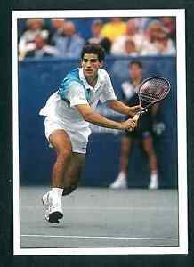 Pete-Sampras-USA-Tennis-1992-Edizioni-Panini-MINT-n-186-Rookie