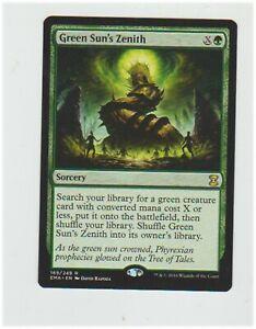 GREEN SUN/'S ZENITH Eternal Masters MTG Green Sorcery Rare