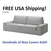 Ikea Kivik Sofa (89 3/4) Cover Slipcover Orrsta Light Gray Sealed