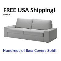 Ikea Kivik Sofa (89 3/4) Cover Slipcover Orrsta Light Gray Sealed