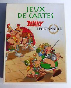 Asterix-JEU-DE-CARTES-Asterix-Legionnaire-Coffret-Atlas-2006-complet-NEUF