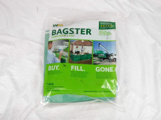 Bagster 3cuyd Dumpster In A Bag For Sale Online Ebay