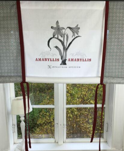 Raff Gardine AMARYLLIS Rollo 140x120 LillaBelle Vintage Landhaus Shabby Curtain