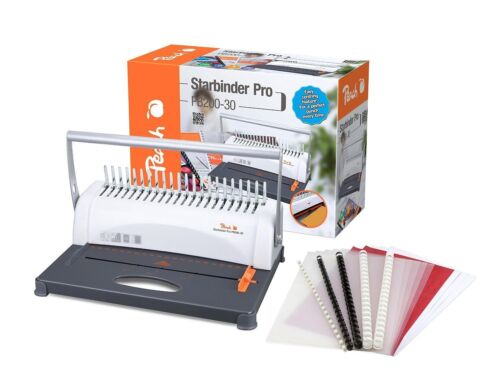 Peach Star Binder Pro Plastikbindegerät A4 PB200-30