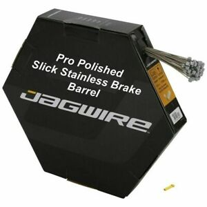 Stainless JAGWIRE brake cable Inner Bike  Wire Galvanised Barrel Pro Slick