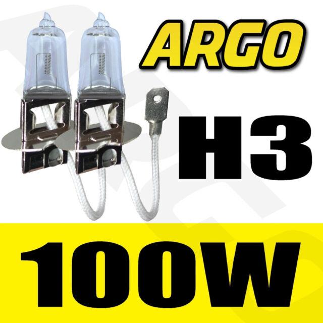 PORSCHE 911 - 996 H3 100W SUPER CLEAR 453 FOG SPOT LIGHT BULBS HID