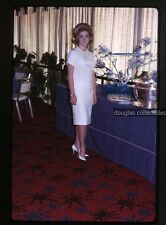 1960s  Kodachrome Photo slide Teenage Girl at Punch Bowl Sweet 16 party