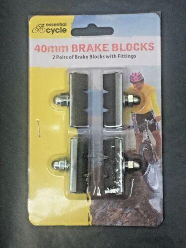 4pc Universal Cycle Bicycle Bike Brake Blocks