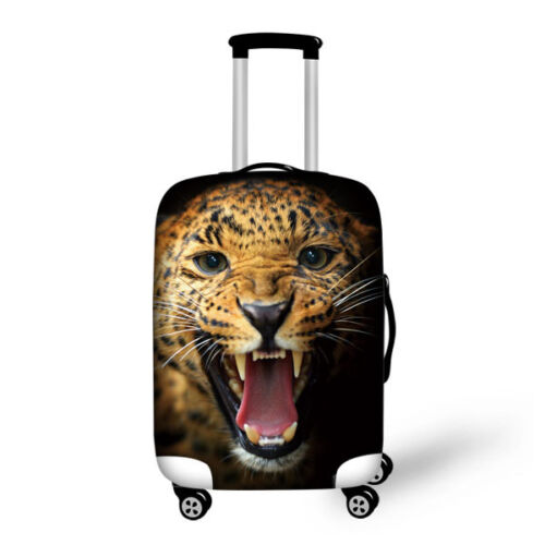 Leopard Elastic Luggage Suitcase Cover DustProof different Designs and Sizes
