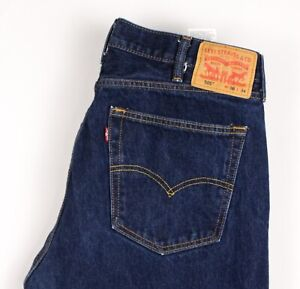 Levi's Strauss & Co Hommes 505 Jeans Jambe Droite Taille W38 L34 BBZ680
