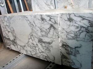 Tischplatte Marmorplatte Weiss Arbeitsplatte Extra Dunn 12mm Stark