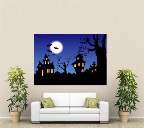 Halloween Giant 1 Piece  Wall Art Poster H105