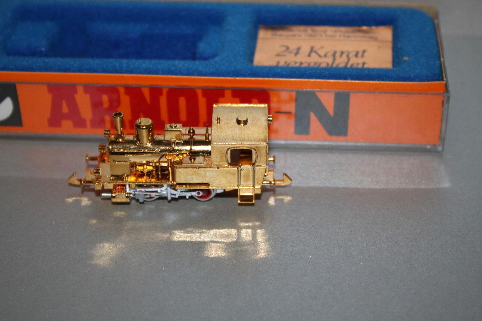 Arnold 2701 locomotiva bn2 ploxemam stand modello dorato Traccia N OVP