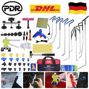 PDR Ausbeulwerkzeug Dellen Ausbeul KFZ Reparatur Gleithammer Werkzeug Komplett