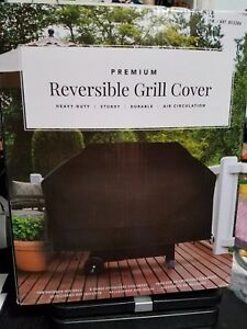 Ventilation TPU Liner NEW Premium Heavy Duty Reversible Grill Cover
