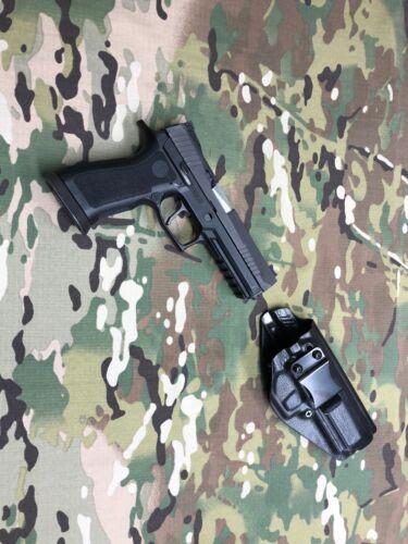 Black Police Raptor Kydex IWB Kydex Holster for SIG P320 X5
